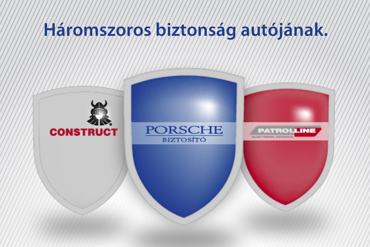 Patrolline riasztó és Porsche Casco